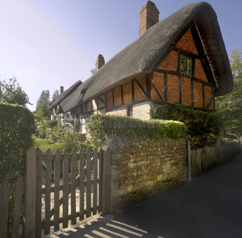 stratford warwickshire avon Англии стоковое изображение rf