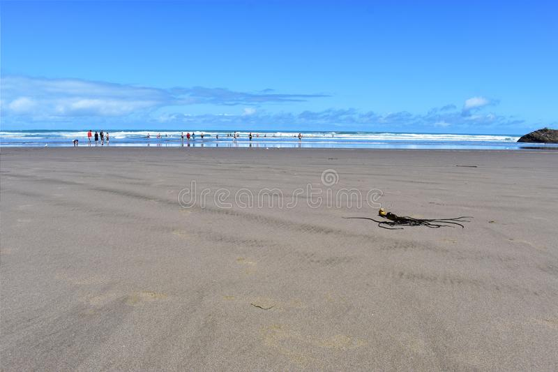 Strati dell'oceano e del deserto fotografia stock libera da diritti