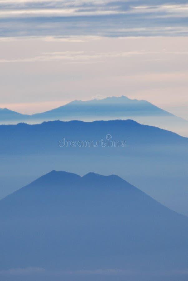 Strati della montagna immagini stock libere da diritti