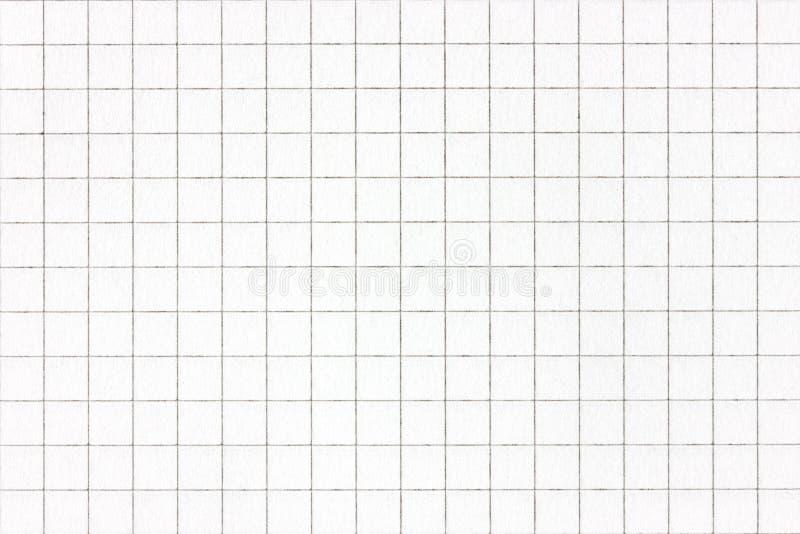 Strato bianco del documento quadrato fotografia stock libera da diritti