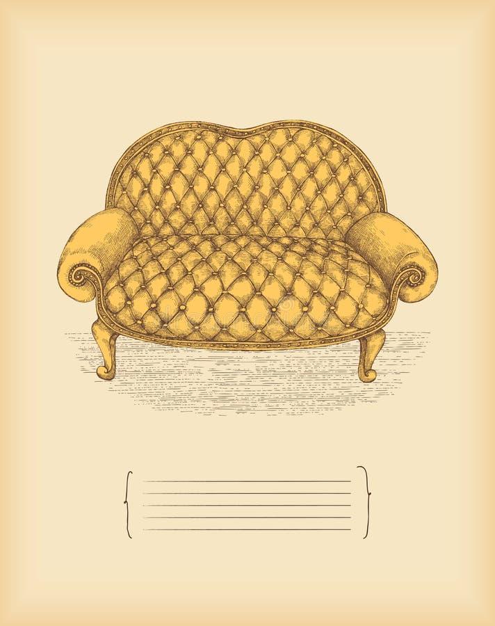 Strato dell'annata royalty illustrazione gratis