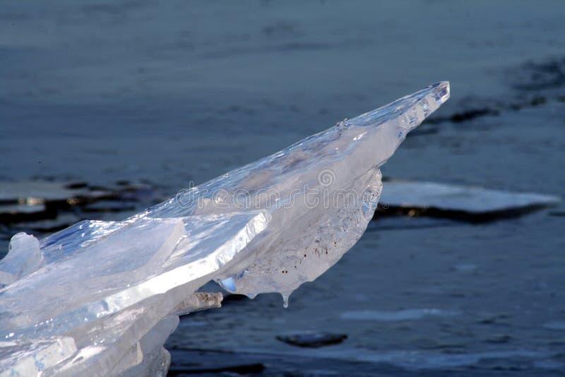 Strato di ghiaccio alzato immagine stock libera da diritti