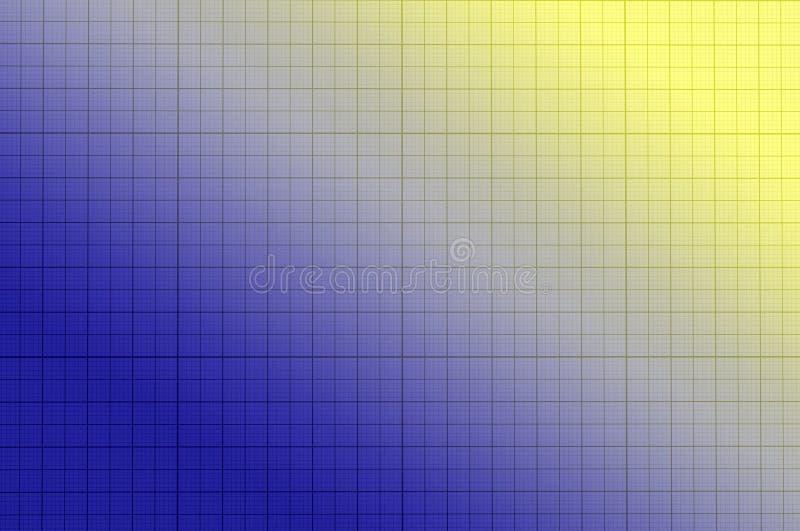 Strato di griglia della carta blu fotografia stock libera da diritti