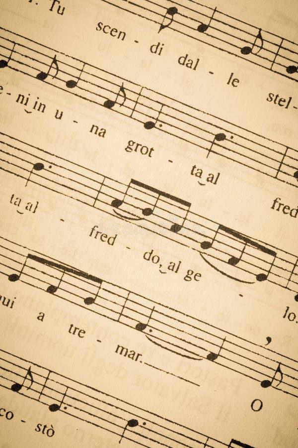 Strato di musica dell'annata fotografie stock libere da diritti