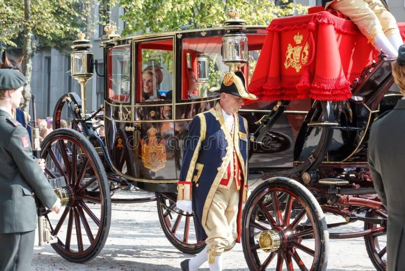Strato dorato di Alexander il re della famiglia olandese del fratello immagini stock