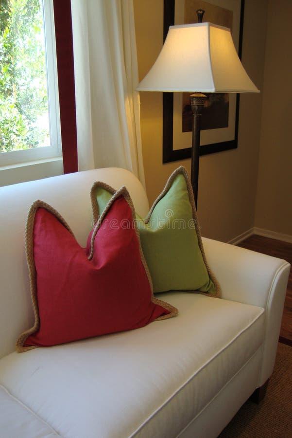 Strato e cuscini verticali immagine stock