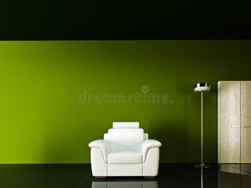 Strato esotico di bianco delle tonalità illustrazione vettoriale