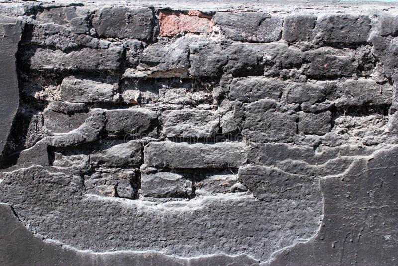 Strato, oggetto d'antiquariato, mattone, il nero, casa, architettura urbana e progettazione come movimento a orologeria della pri immagine stock libera da diritti