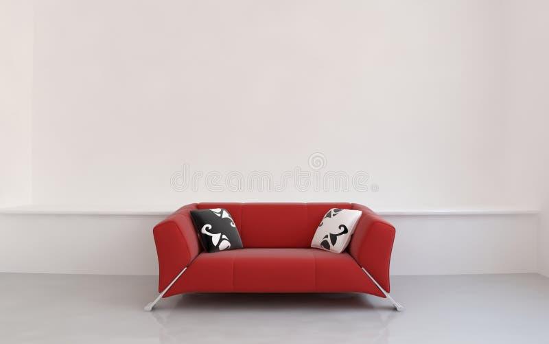 Strato per affrontare una parete in bianco royalty illustrazione gratis
