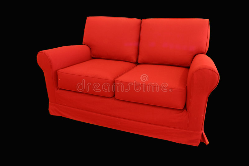 Strato rosso fotografia stock libera da diritti