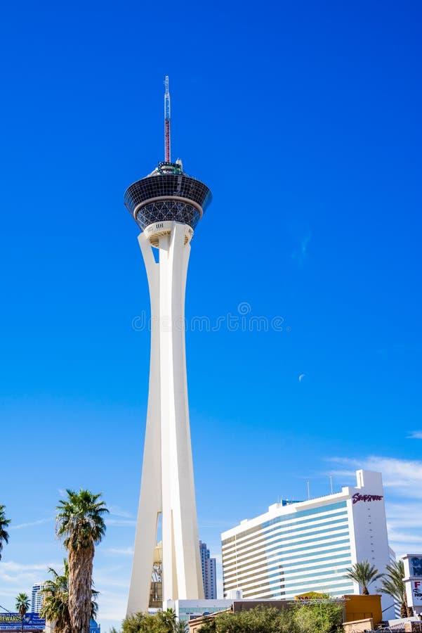 Stratosfera Las Vegas fotografia stock libera da diritti