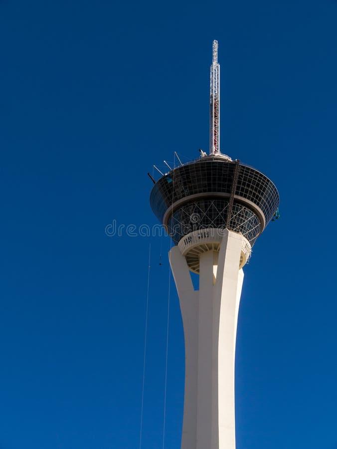 Stratosfera Hotelowy Las Vegas Nevada obraz royalty free