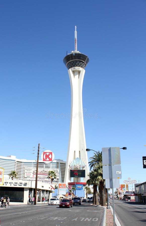 Stratosfera, Las Vegas, NV obrazy royalty free