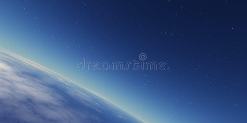 Stratosphäre vektor abbildung