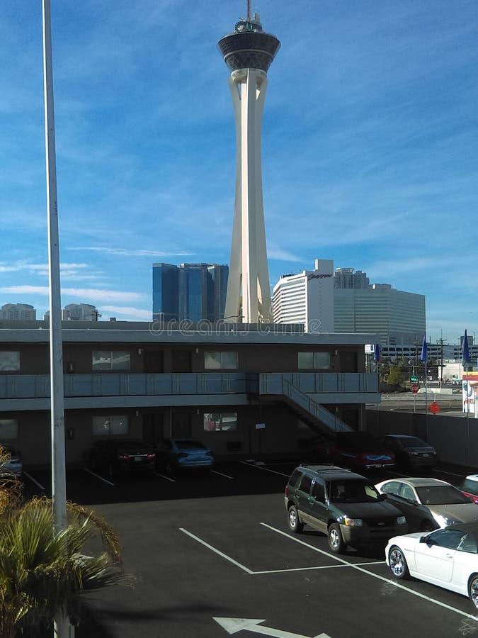 Stratosphère Las Vegas photos libres de droits
