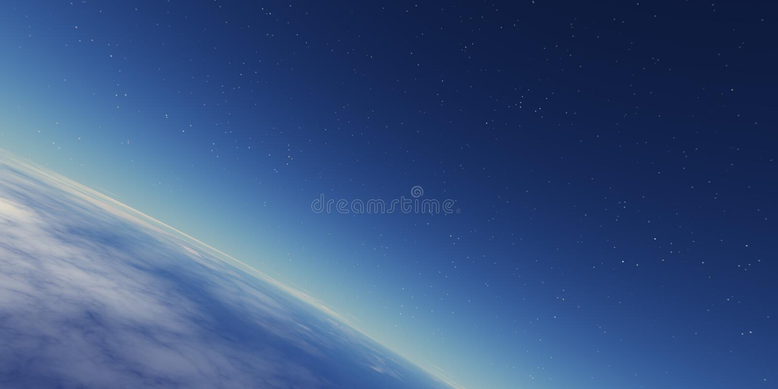 Download Stratosphere stock illustration. Image of deep, cosmos - 727403