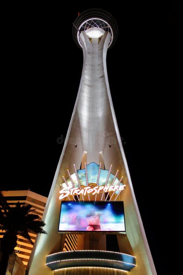 Download Stratosphere Las Vegas Tower Editorial Stock Image - Image: 25081864