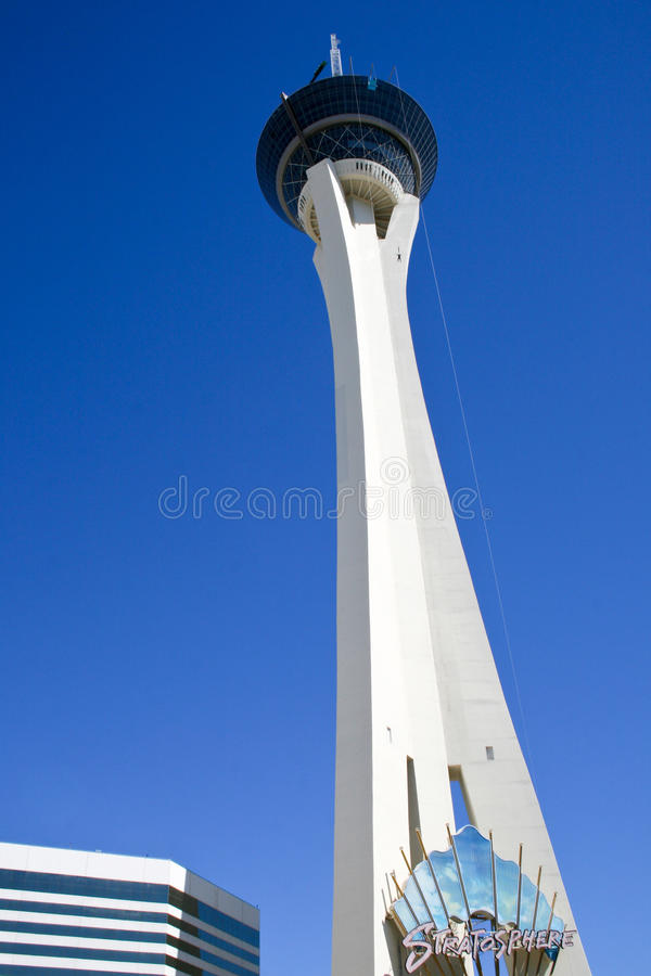 Download Stratosphere Tower editorial stock image. Image of america - 28419999