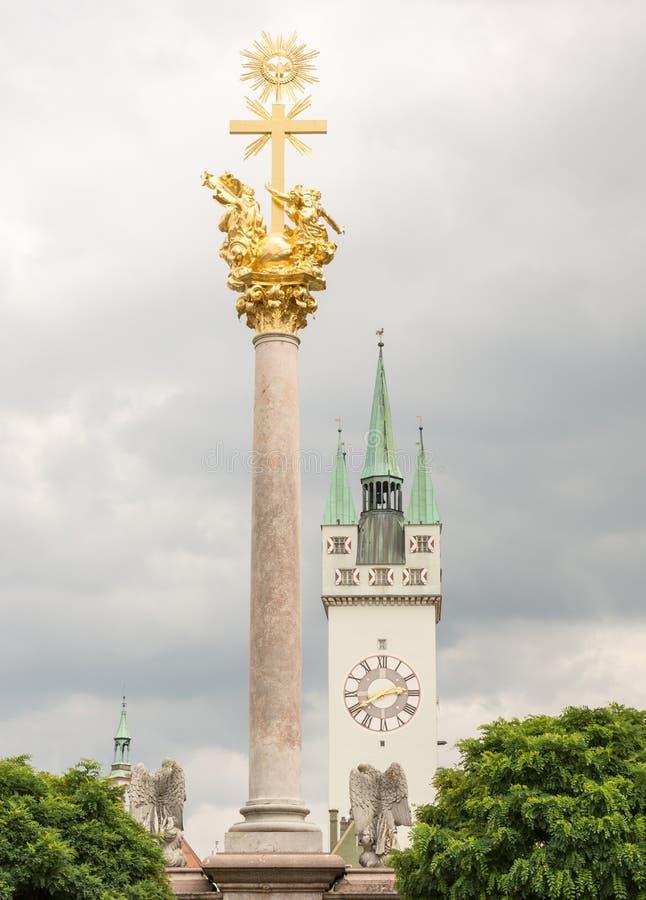 Straubing histórico fotografia de stock royalty free