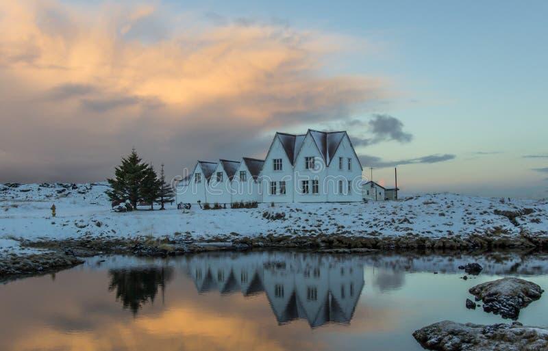 Straumur, IJsland stock foto