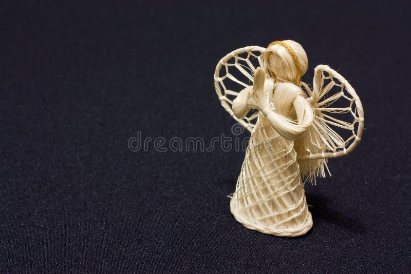 Straw Angel Royalty Free Stock Image