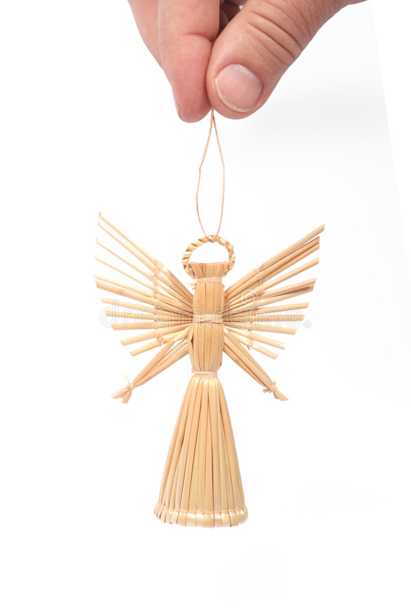 Free Straw Angel Royalty Free Stock Photos - 3632998