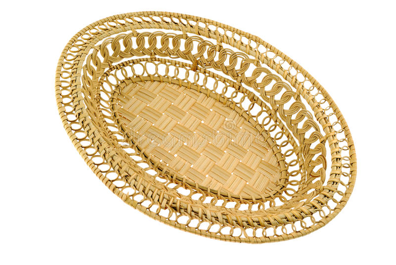 Straw Basket royalty free stock images