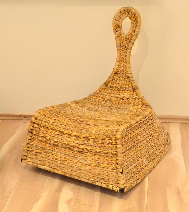 Download Straw Chair Stock Photo. Image Of Material, Background   45216672