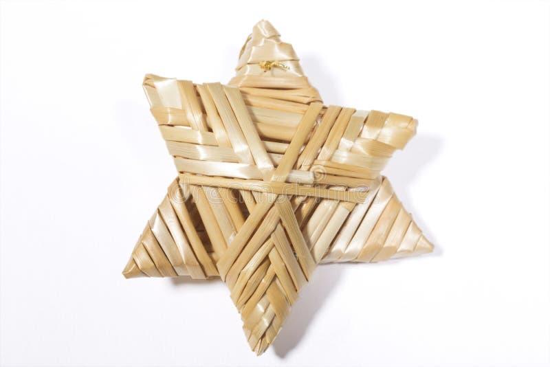 Straw Christmas Decoration photo libre de droits