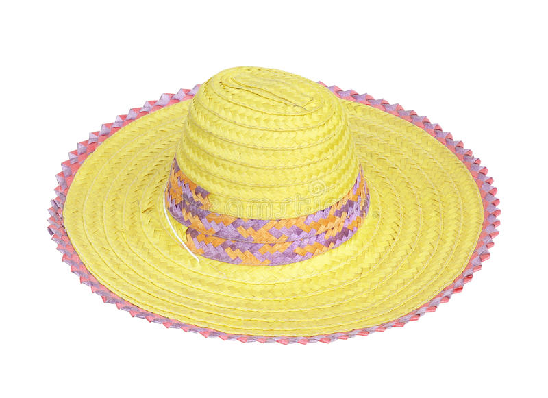 Download Straw hat stock image. Image of natural, background, colorful - 25410197