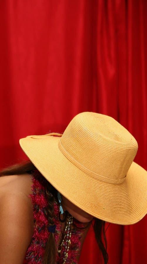 Straw Hat royalty free stock image