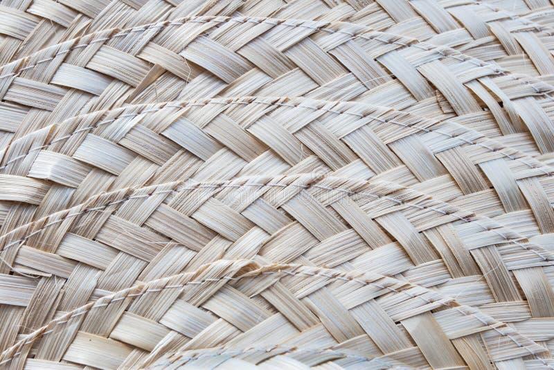 Straw Hat Pattern imagen de archivo libre de regalías