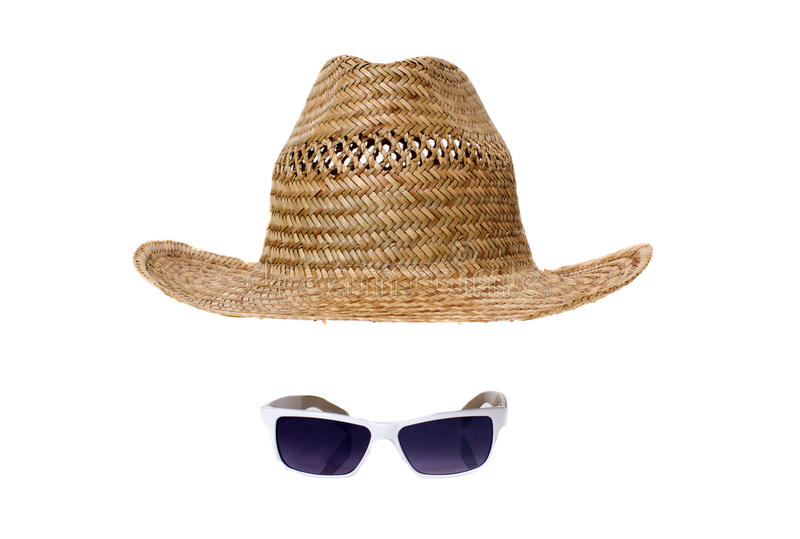 Download Straw hat and sunglasses stock image. Image of holiday - 25152463