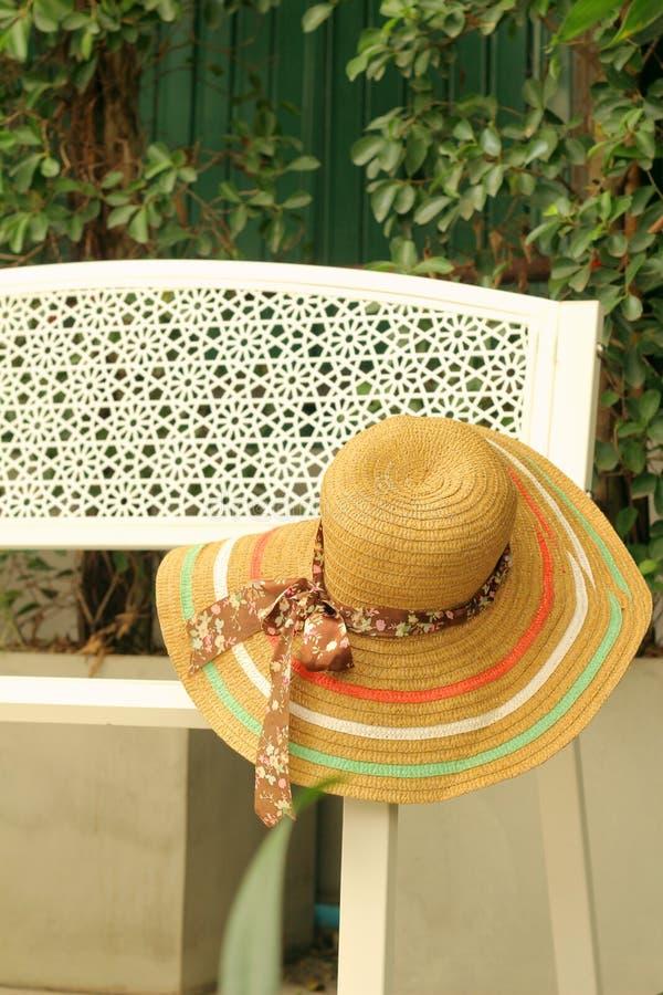 Straw Hats photo stock