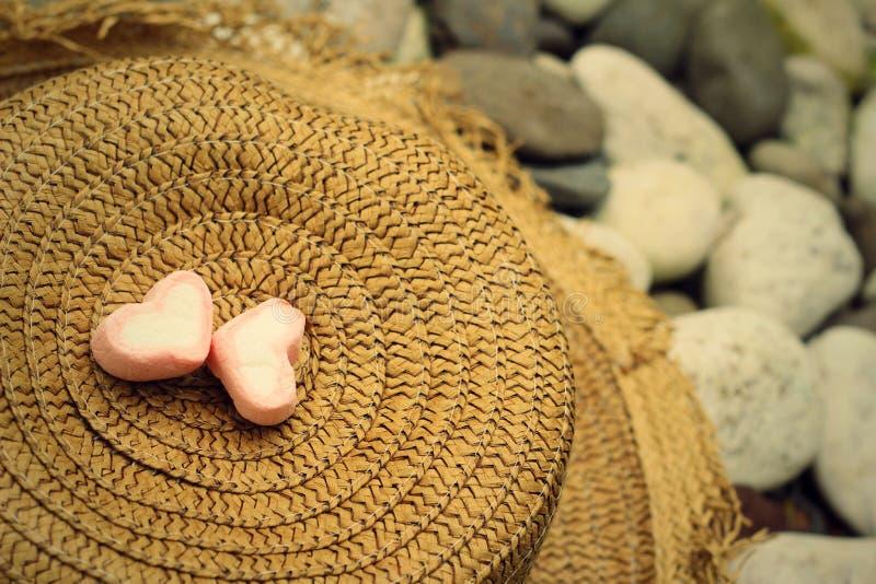Straw Hats photos libres de droits