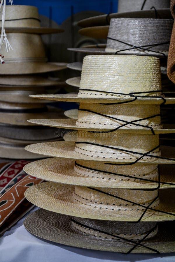 Straw Hats immagini stock