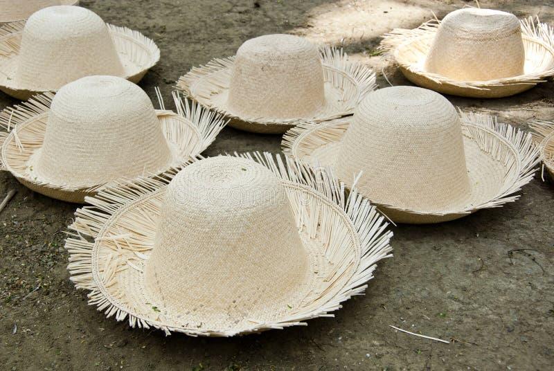 Straw Hats inacabado foto de stock