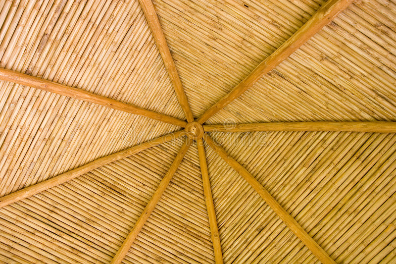Download Straw Hut Bamboo Roof stock photo. Image of nature, angle - 6031166