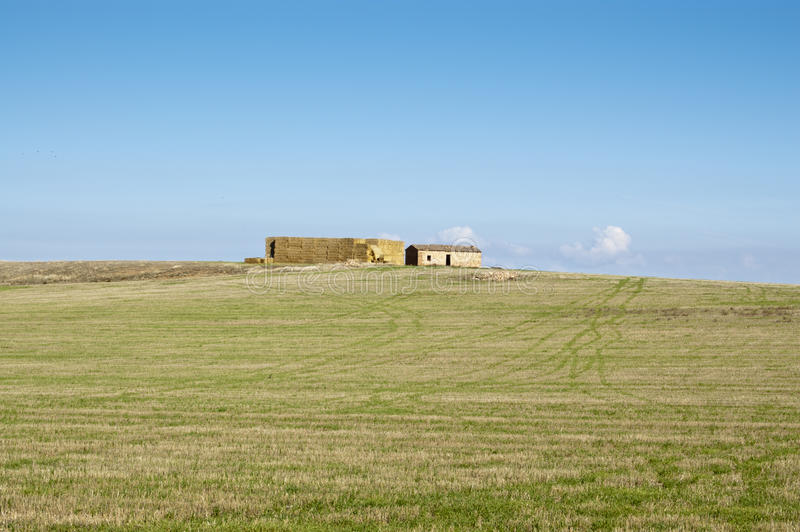 Download Straw loft stock image. Image of hayloft, fallow, extensive - 25370703