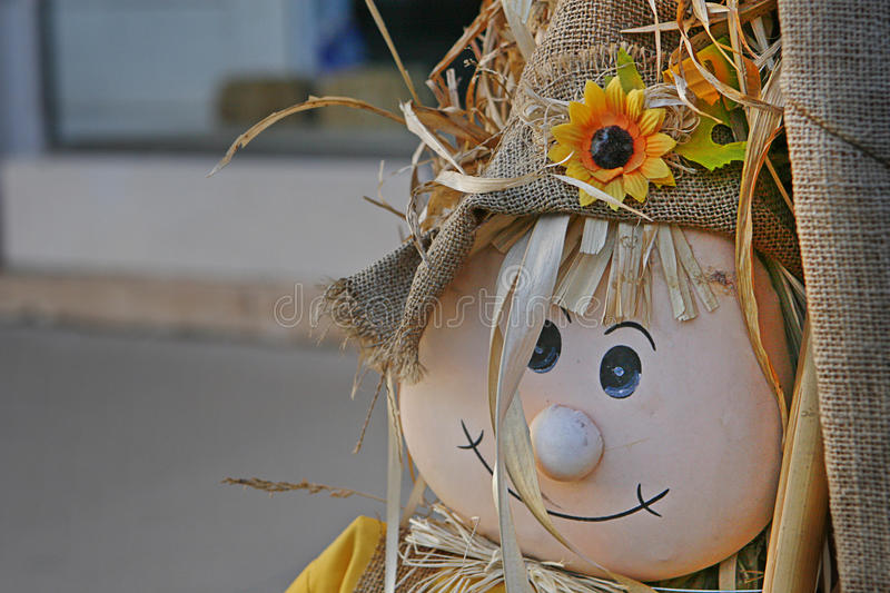 Straw Man fotografia de stock royalty free
