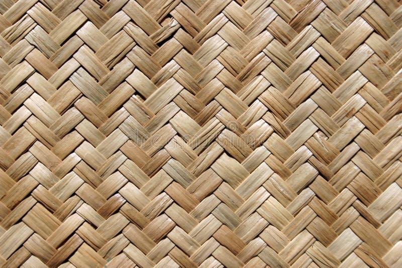 Straw mat. Texture