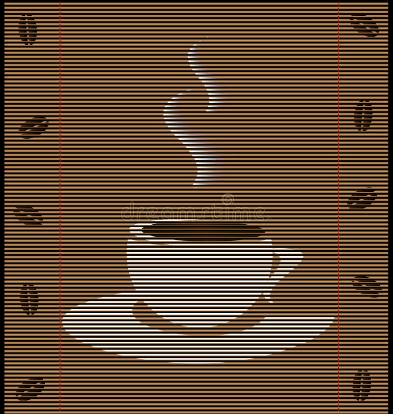 Download Straw Mat Cup Of Coffee Stock Images - Image: 21466394