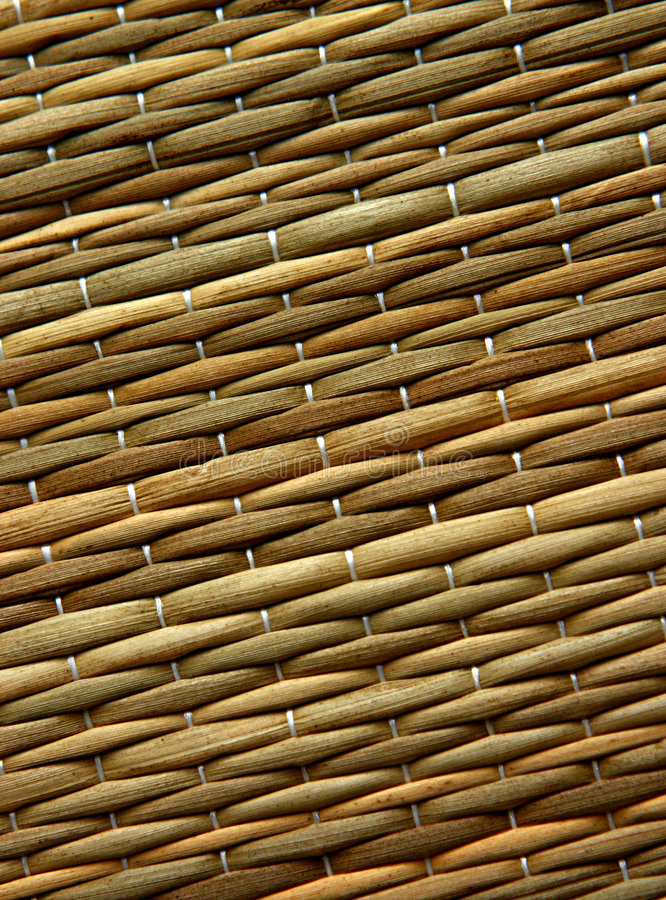 Straw mat texture royalty free stock image