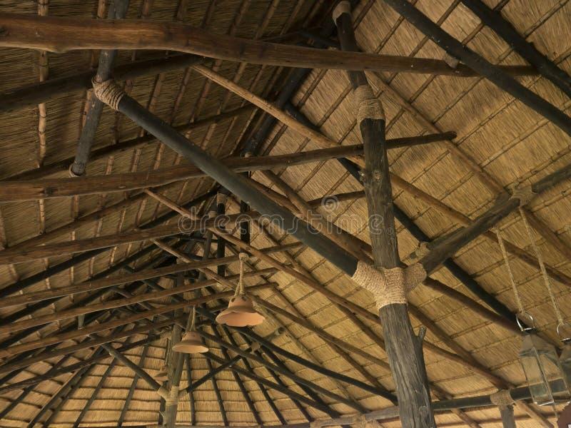 Straw Roof imagen de archivo libre de regalías