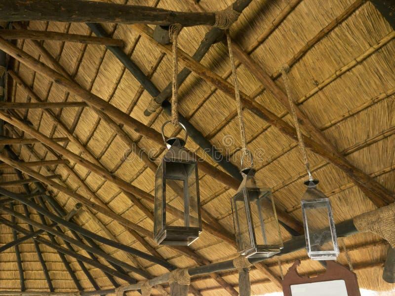 Straw Roof fotografía de archivo libre de regalías