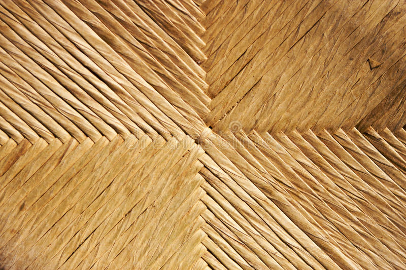 Straw rope regular chair background royalty free stock photos