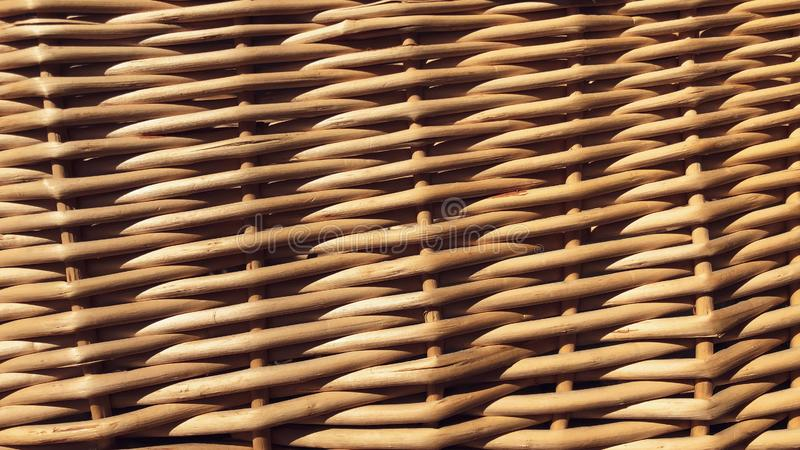 Straw Weaving fotografia stock