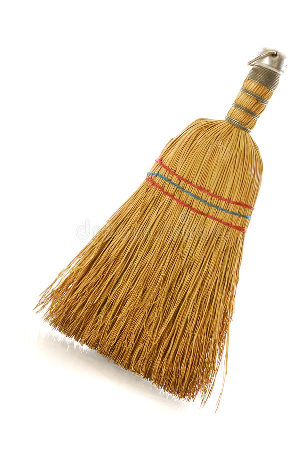 Free Straw Whisk Broom Royalty Free Stock Photo - 15252905
