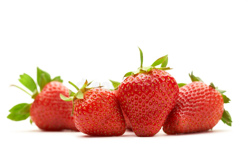 Download Strawberries stock image. Image of frame, juicy, colored - 19729181