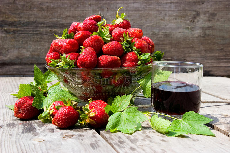 Download Strawberries stock photo. Image of juice, wine, harvest - 22556386